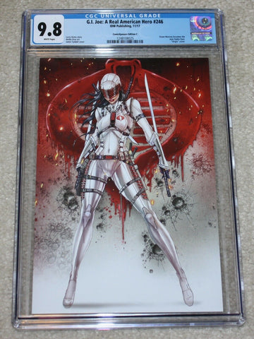 G.I. Joe GI Jamie Tyndall Snake-Eyes Cobra VIrgin Variant Exclusive Storm Shadow IDW east side comics CGC