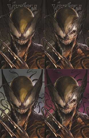 VENOM #6 FRANCESCO MATTINA VENOMIZED X-23 EXCLUSIVE VARIANTS