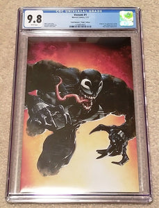 VENOM 1 CGC 9.8 CLAYTON CRAIN RED VIRGIN VARIANT 1st LEE PRICE 500 PRINT RUN