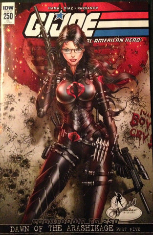G.I. Joe GI Jamie Tyndall Snake-Eyes Cobra Baroness Variant Exclusive Storm Shadow IDW east side comics