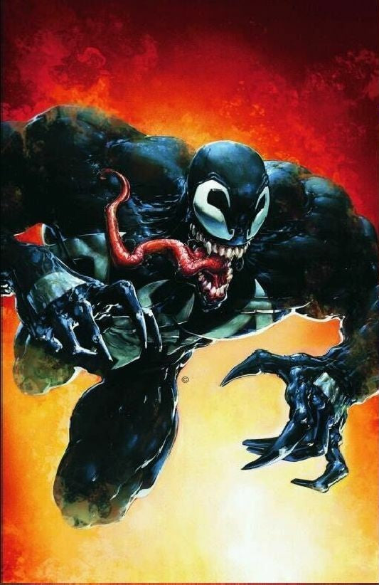 VENOM #1 CLAYTON CRAIN EXCLUSIVE RED VIRGIN VARIANT 1st LEE PRICE 500 PT RUN 9.0