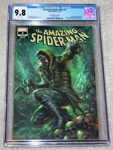 AMAZING SPIDER-MAN #2 CGC 9.8 LUCIO PARRILLO 1st KINDRED COVER APPEARANCE VARIANT