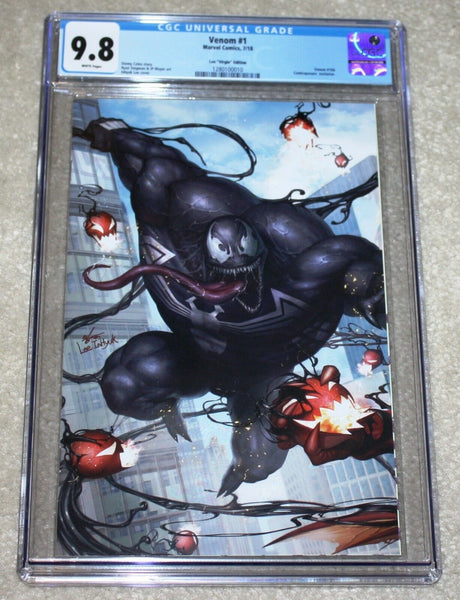 Amazing Spider-man 801 Inhyuk Lee Trade Dress Virgin Connecting Variant Marvel Comics East Side Comics Comicxposure Exclusive CGC Red Goblin Venom 1