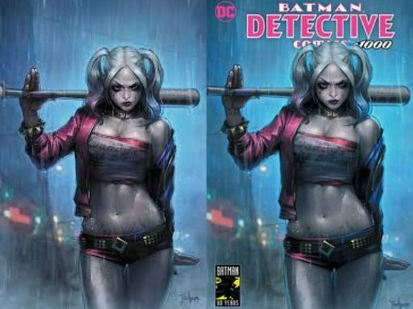 DETECTIVE COMICS #1000 JEEHYUNG LEE HARLEY QUINN EXCLUSIVE VARIANTS