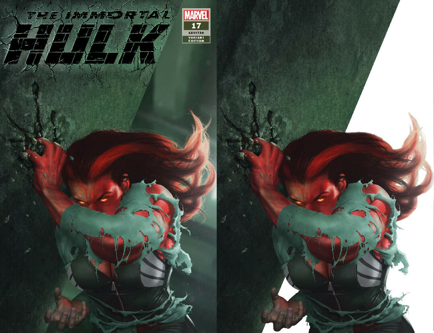 IMMORTAL HULK #17 RAHZZAH RED SHE-HULK EXCLUSIVE VARIANTS