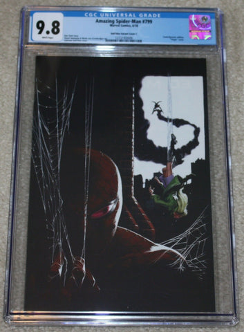 Amazing Spider-man 799 Gabrielle Dell Otto Gwen Stacy Trade Dress Virgin Variant Marvel Comics East Side Comics Comicxposure Exclusive CGC Red Goblin Venom