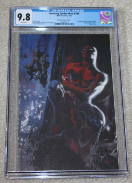 AMAZING SPIDER-MAN 798 CGC 9.8 GABRIELLE DELL OTTO VIRGIN VARIANT-B 1st RED GOBLIN