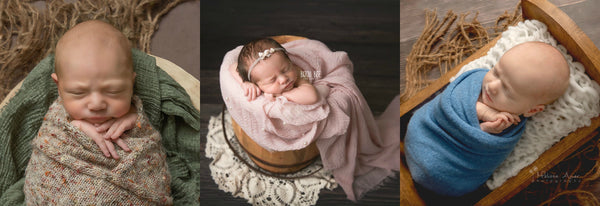 Chunky Knit Layer - Basket Stuffer - Textured Layer - Bump Blanket - Newborn Photo Props Canada - Tiny Tot Prop Shop
