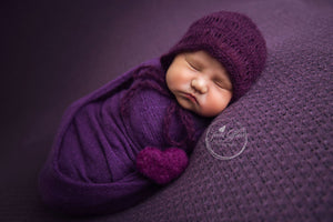 Stretch Knit Wraps - Tiny Tot Prop Shop - Newborn Photo Props