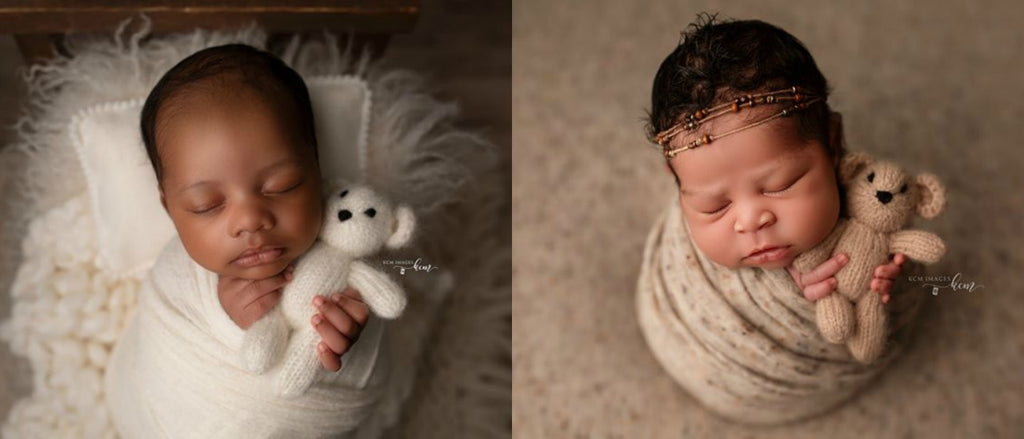 Tiny Tot Prop Shop - Newborn Photo Props Canada - Canadian Photography Props - Teddy Bear Lovies Stuffies