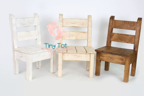 Wooden Sitter Chairs Bowl - Wooden Photo Props - Newborn Photo Props Canada - Tiny Tot Prop Shop