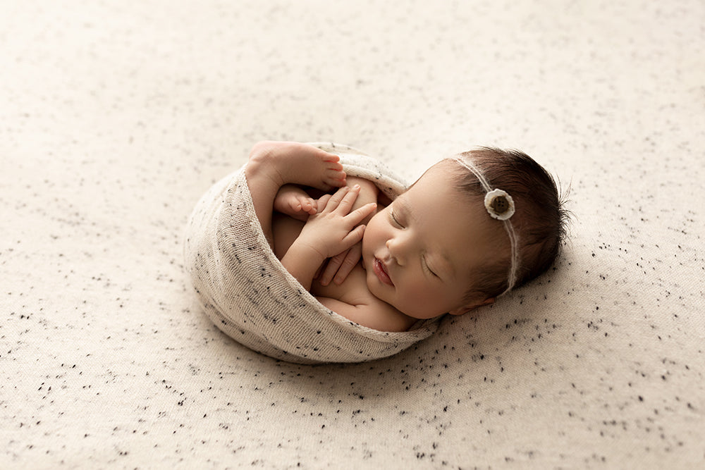 New Speckled Knit Posing Fabric Sets - Newborn Photo Props - Shop for Newborn Photo Props Online - Tiny Tot Prop Shop
