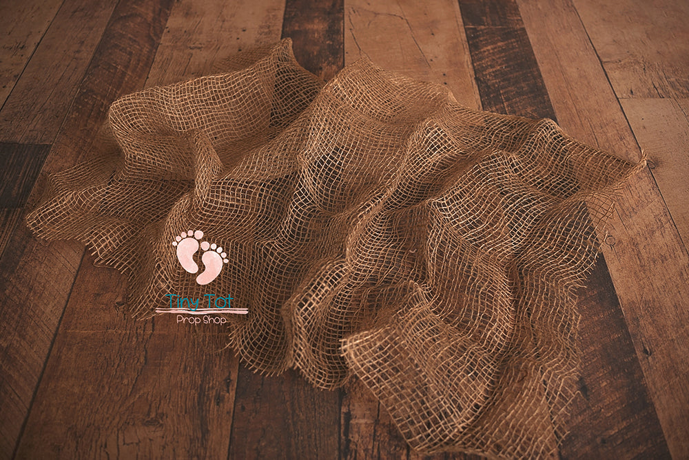 Burlap Layer - Newborn Photo Props - Shop for Newborn Photo Props Online - Tiny Tot Prop Shop