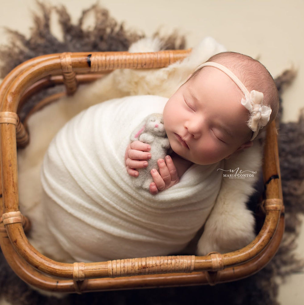 Maria Contos Photography - Dream Knit Wraps - Best Selling Stretch Knit Wraps - Soft Stretchy Wraps - Newborn Photography - Newborn Photo Props Canada - Tiny Tot Prop Shop - Canadian Photography Props - Vancouver Island