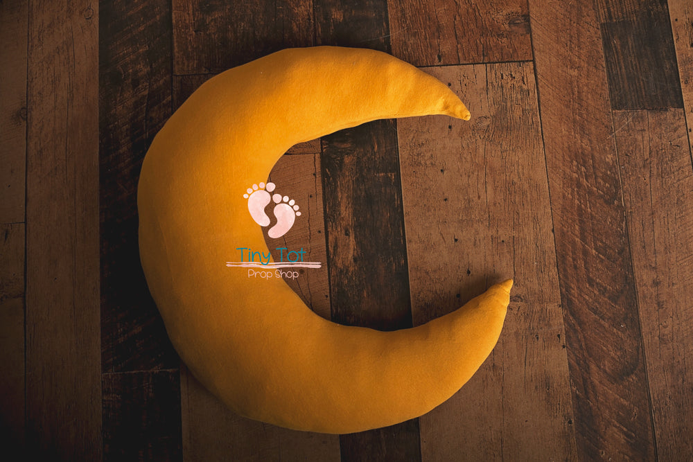 Yellow Moon and Stars - Newborn Photo Props - Shop for Newborn Photo Props Online - Tiny Tot Prop Shop