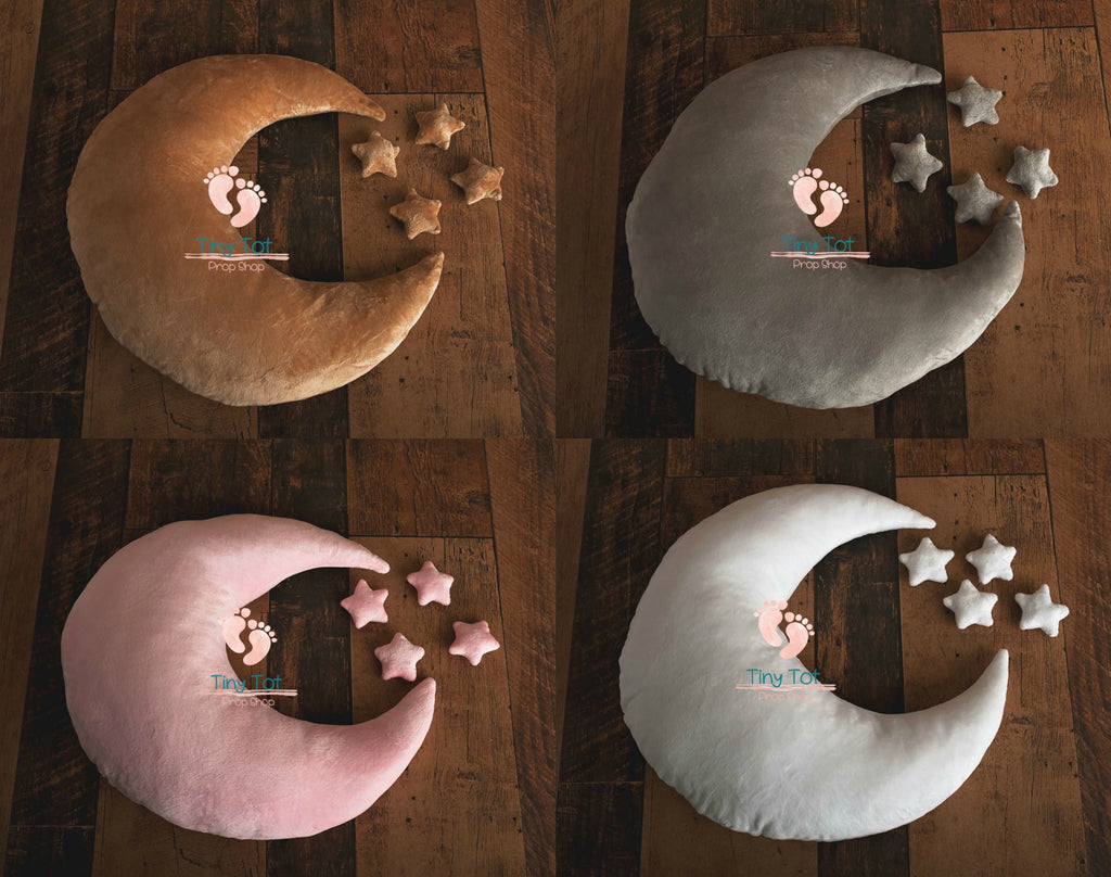 Moon Pillow Prop Sets - Newborn Photo Props - Shop for Newborn Photo Props Online - Tiny Tot Prop Shop