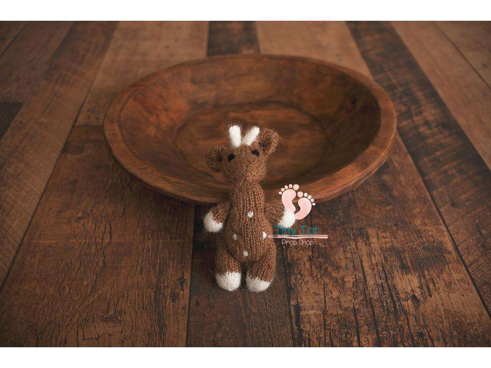 Reindeer Photo Prop - Newborn Photo Props - Shop for Newborn Photo Props Online - Tiny Tot Prop Shop