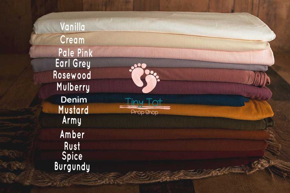 Soft Jersey Knit Posing Fabric Sets - Newborn Photo Props - Shop for Newborn Photo Props Online - Tiny Tot Prop Shop