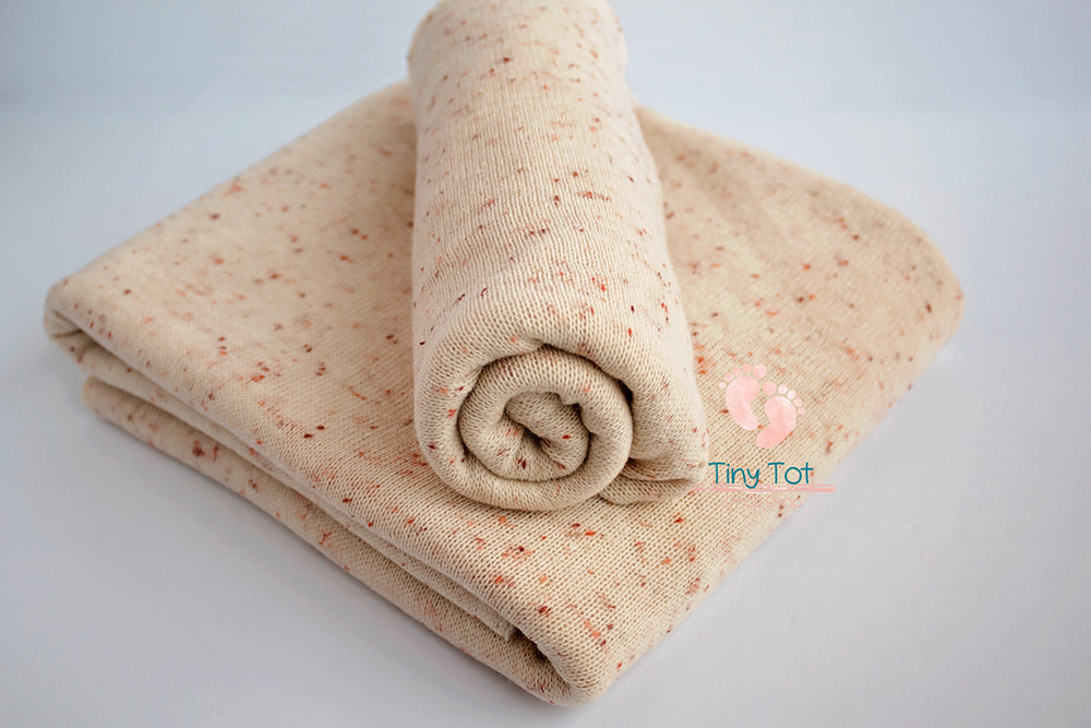 Speckled Knit Posing Fabric - Newborn Photo Props - Shop for Newborn Photo Props Online - Tiny Tot Prop Shop