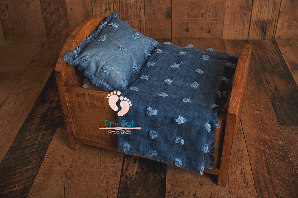 Tufted Boho Layers and Pillow Set - Boho Layer - Boho Fringe Pillow - Newborn Pillow Prop - Newborn Photo Props Canada - Shop for Newborn Photo Props Online - Tiny Tot Prop Shop - Canadian Photography Props - Vancouver Island