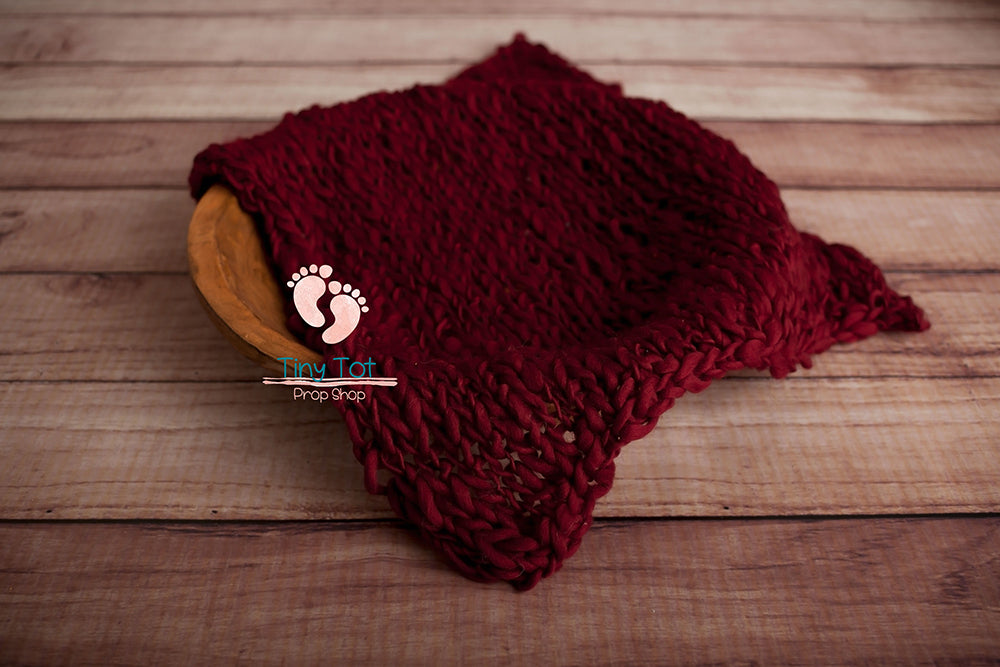 Chunky Knit Layer - Bump Blanket - Texutred Layer - Newborn Photo Props Canada - Tiny Tot Prop Shop