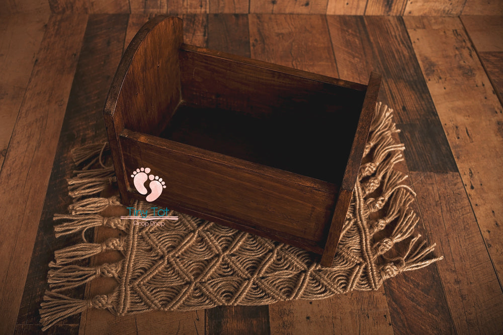 Wooden Newborn Bed - Newborn Photo Props - Shop for Newborn Photo Props Online - Tiny Tot Prop Shop