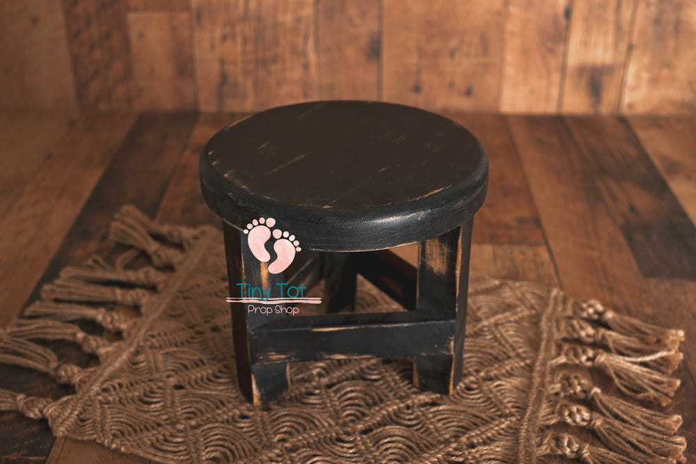 Wooden Stools - Newborn Photo Props - Shop for Newborn Photo Props Online - Tiny Tot Prop Shop
