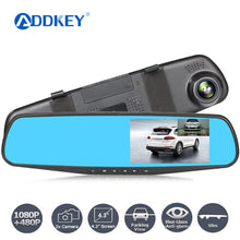Load image into Gallery viewer, Night Vision Car Camera + Rearview Mirror Digital Video