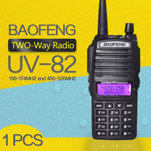 Walkie Talkie BaoFeng UV-82 Dual-Band FM Ham Two Way Radio