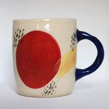 Load image into Gallery viewer, Blue Handle Mug
