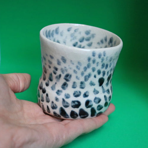 Dotted Pattern Pot Extra Small