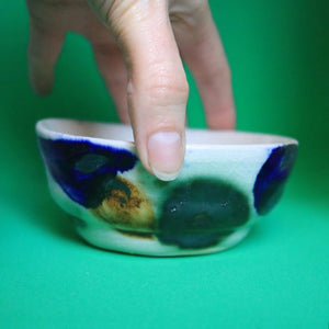 Pattern Oxide Bowl Small