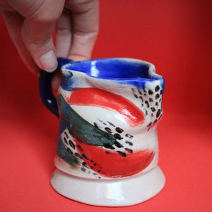 Brushstroke Pattern Jug Small
