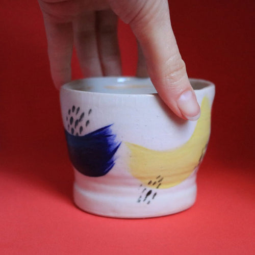 Brushstroke Pot Medium