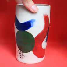 Load image into Gallery viewer, Brushstroke Primary Colour Vase