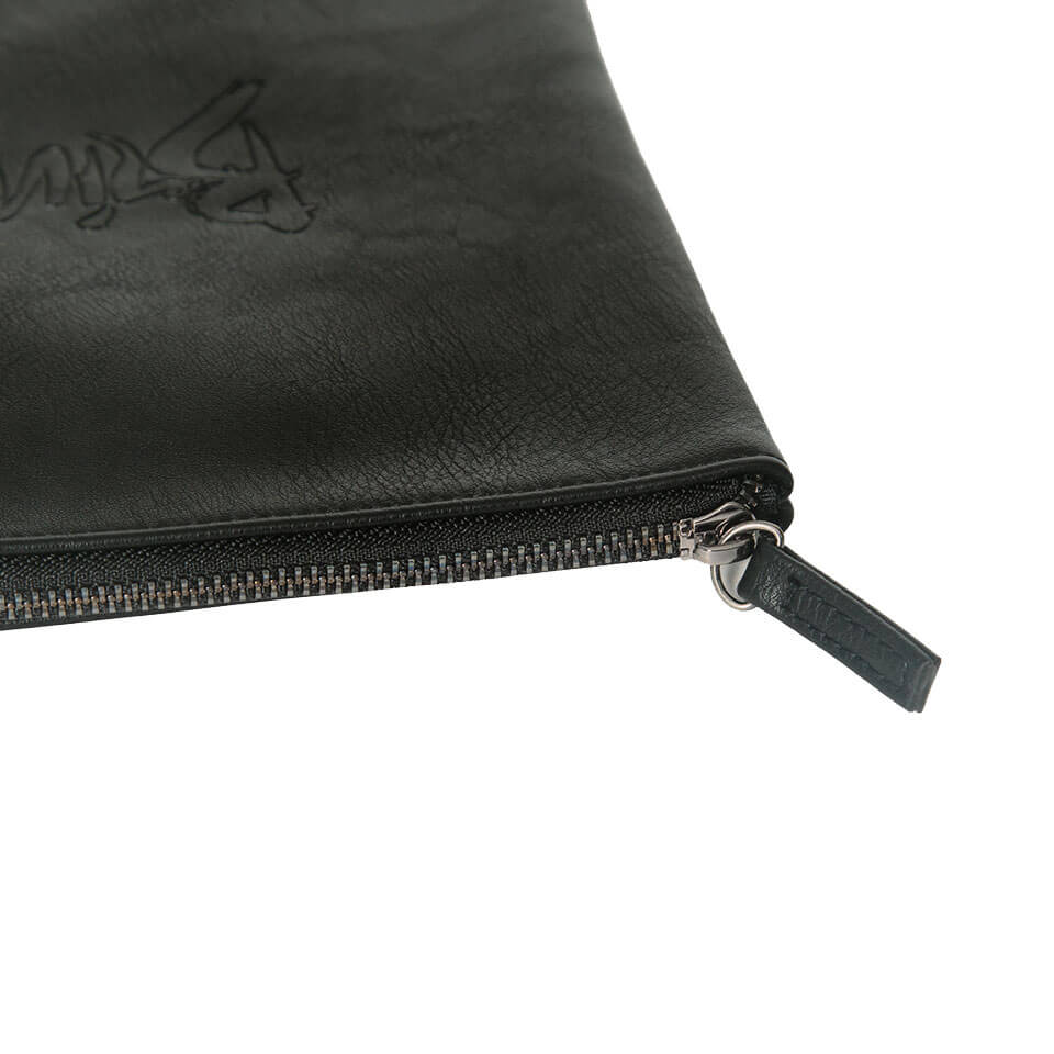 THE SMALL VEGAN LEATHER POUCH