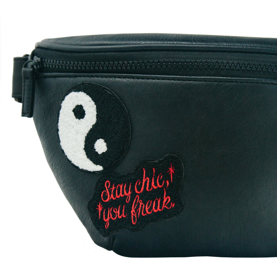Signature Patch Bum Bag
