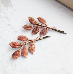 Branch Bobby Pins - More Colors