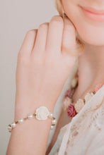 Load image into Gallery viewer, Ivory Rose Bracelet