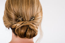 Load image into Gallery viewer, Bee Bobby Pins - Antiqued Brass