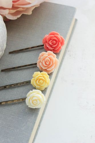 Flower Bobby Pins - BP1031 NEW