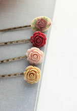 Load image into Gallery viewer, Flower Bobby Pins - BP1030
