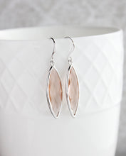 Load image into Gallery viewer, Marquis Drop Earrings - Blush