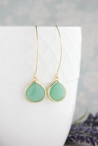 Candy Jewel Earrings  - Mint opal