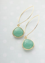 Load image into Gallery viewer, Candy Jewel Earrings  - Mint opal