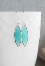 Load image into Gallery viewer, Marquis Drop Earrings - Teal