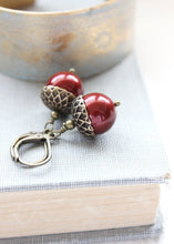 Load image into Gallery viewer, Pearl Acorn Earrings (16 Colors)