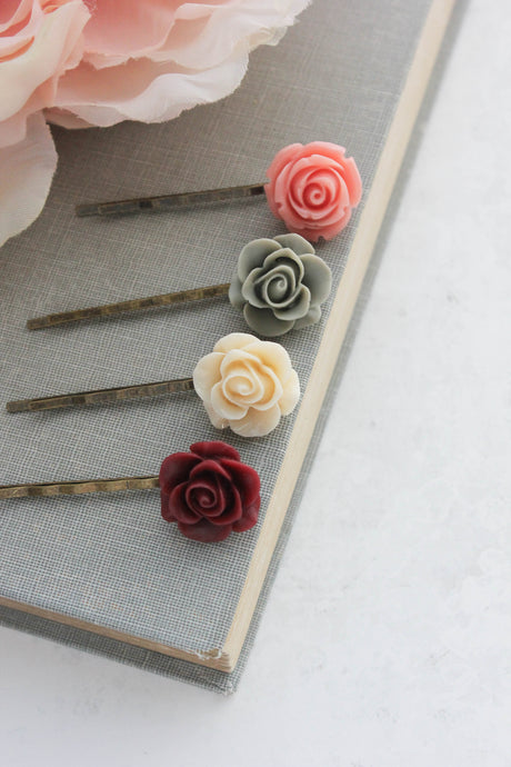 Flower Bobby Pins - BP1251