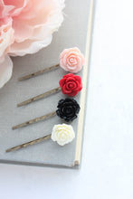 Load image into Gallery viewer, Flower Bobby Pins - BP1252