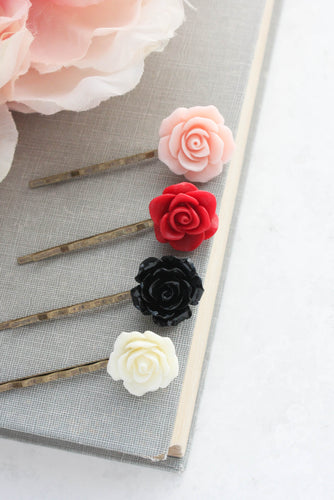 Flower Bobby Pins - BP1252